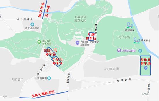 假期上海松江堵不堵?佘山等景区如何停车?指南来了
