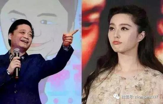 ▲崔永元(左)范冰冰(右)。   资料图片
