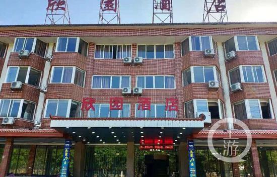 广州花都隔离酒店工勤人员现1例无症状感染者,度假村内酒店全停业检测核酸图片