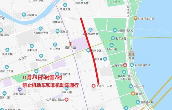 """""""下马""""下周日开跑 上海这些路途将暂时交通控制(图3)"""