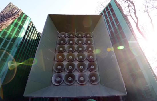 韩国用于对朝扩音喊话的高音喇叭系统