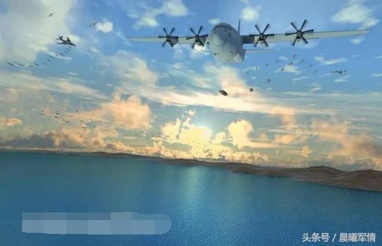 美军空中武库机计划(鸣谢空天防务观察)