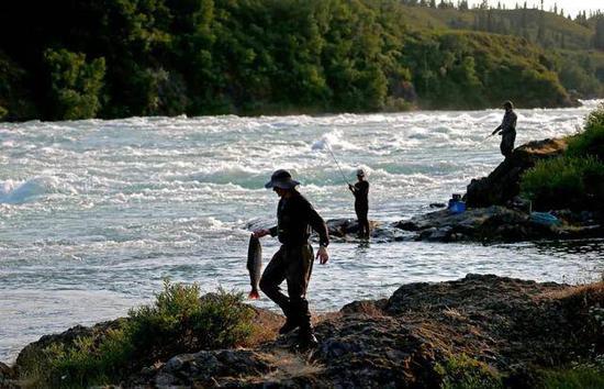 (图说:当地渔业非常发达,生态环境最为理想图源/纽约时报)