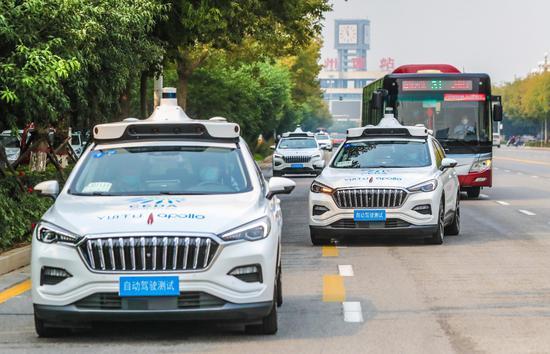 自动驾驶正式进入日常生活!全国首条自动驾驶旅游专线来了图片
