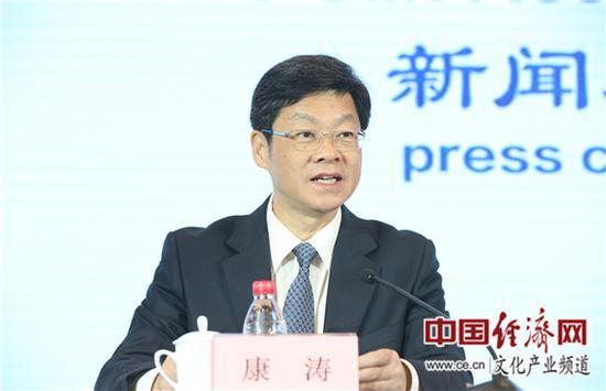 泉州市委书记康涛 中国经济网记者张相成/摄