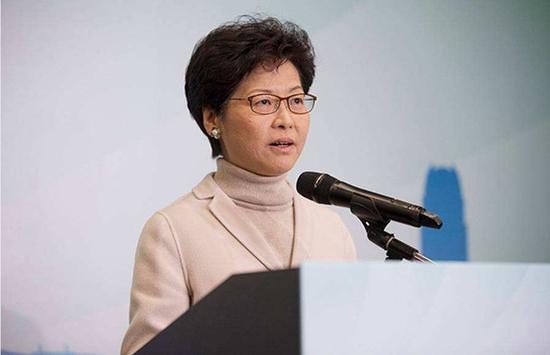 摩天代理:林郑月娥香港限制社交摩天代理距离措施延图片