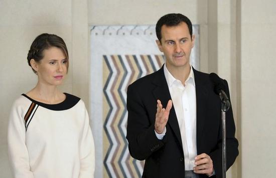 叙利亚总统夫妇新冠病毒检测呈阳性 将居家隔离