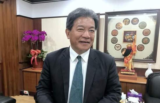 台南市议长郭信良(香港中评社)