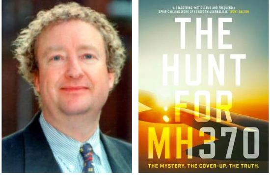 澳大利亚记者希金斯和他写的书《寻找MH370》