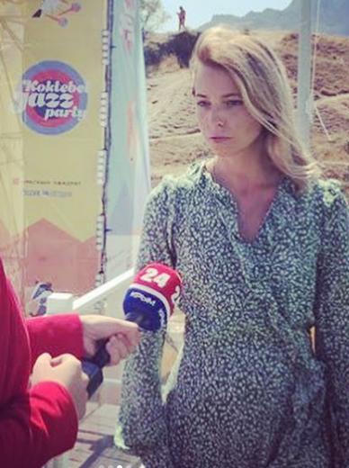 波克隆斯卡娅接受采访(图源:社交媒体)