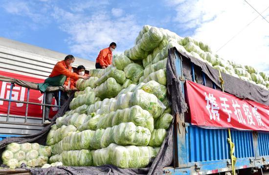 """白沙洲大市场:武汉疫情攻坚战中的""""菜篮子""""大后方"""