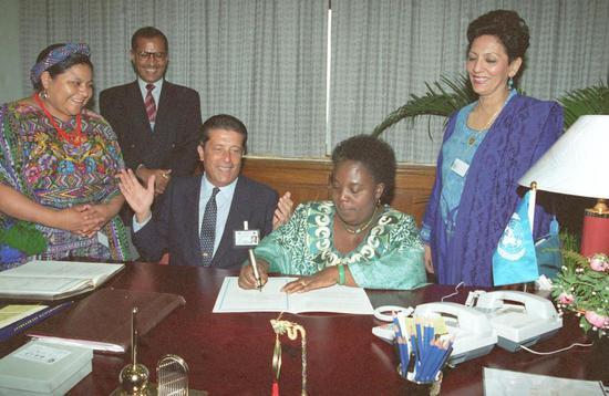 北京世妇会秘书长蒙盖拉:那次会议是世界妇女事业发展史上的重要里程碑图片