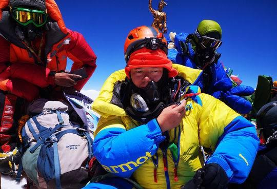历时30多天,熊相荣代表太琨律成功登顶珠峰。