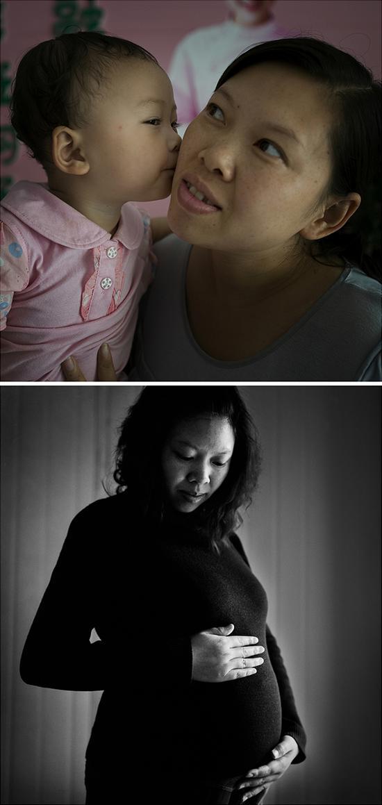 王福珍,再生育年龄33岁,8岁儿子遇难,再生育女儿1岁
