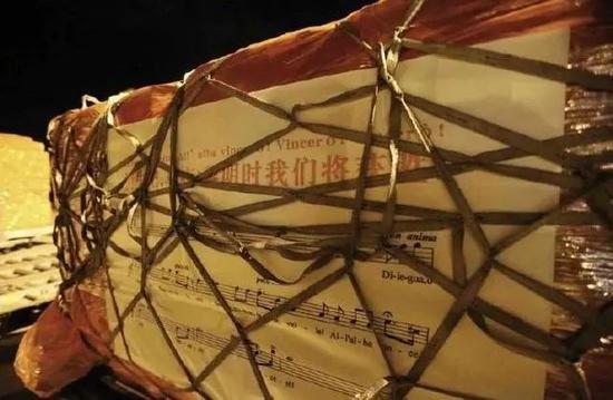 马云捐给意大利的物资上,写着《图兰朵》的一句歌词!图片