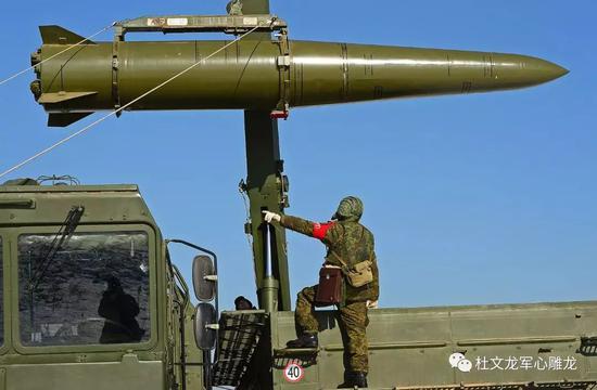 """俄罗斯""""伊斯坎德尔""""战术导弹"""