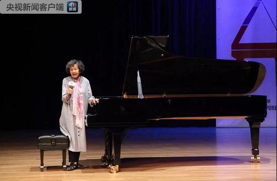 一曲《梁祝》伴一生 中国第一代钢琴家巫漪丽离世