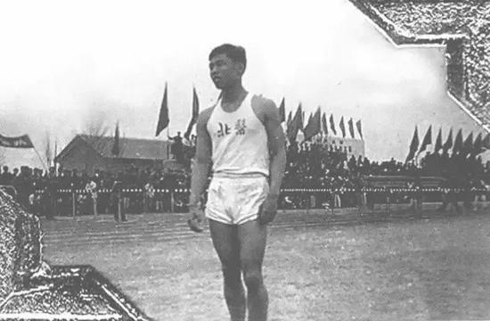 ·第一届全运会上的钟南山。
