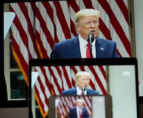 """美媒:特朗普寻求""""惩罚中国"""" 但他的讲话在开始前就破产了图片"""
