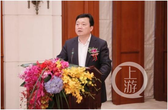 △这是2014年11月时任甘肃广电网络公司总经理的王永生。