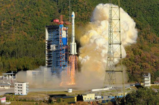 北斗三号系统全球核心星座部署完成:今年7箭10星图片