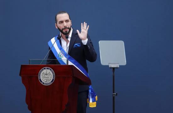 资料图:萨尔瓦多总统布克莱 图自新华社