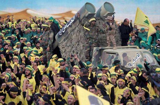 ▲黎巴嫩真主党军队