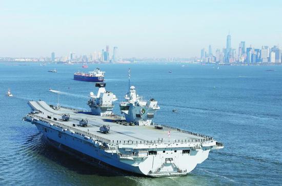 英国皇家海军的女王号航母