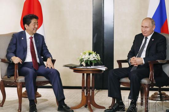 日本急于解决日俄领土争端:四个岛先还两个也可以