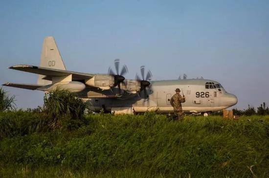 ▲好军KC-130运输机(好国水师陆战队网站)