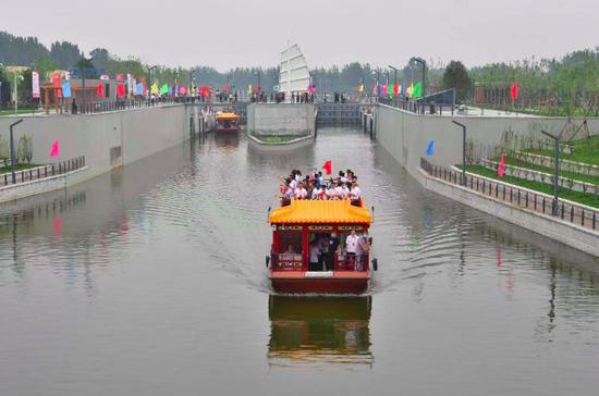 大运河北京段全线旅游通航,最多可双向通行8艘游船