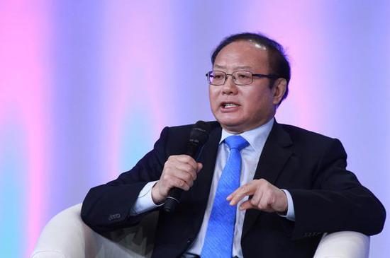 中国国际经济交换核心副理事长魏开国 视觉中国 材料图