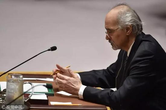 安理会上的叙利亚代表