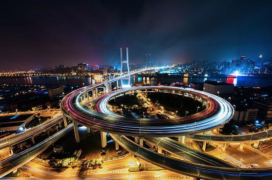 ▲现在的上海