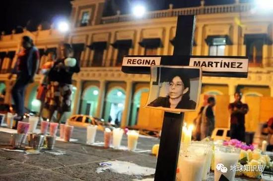 2012年遭毒贩报复的记者里贾纳·马丁内斯·佩雷斯