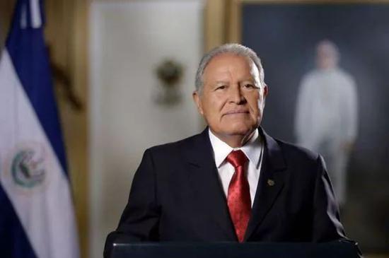 ▲萨尔瓦多总统桑切斯