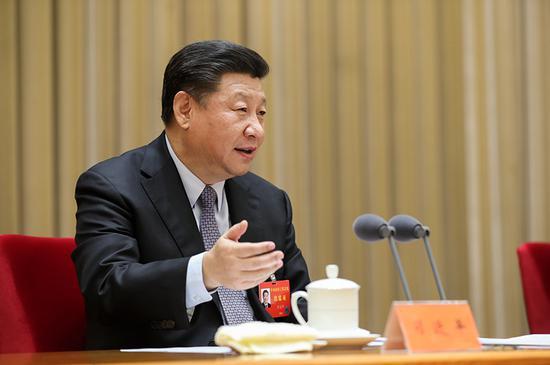 2017年12月28日至29日,中央农村工作会议在北京举行。中共中央总书记、国家主席、中央军委主席习近平在会上发表重要讲话。 新华社记者 丁林/摄