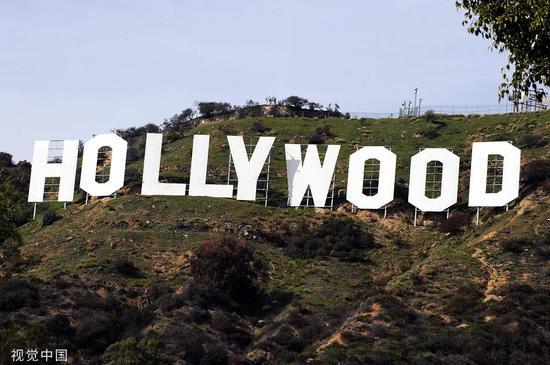 好萊塢山。