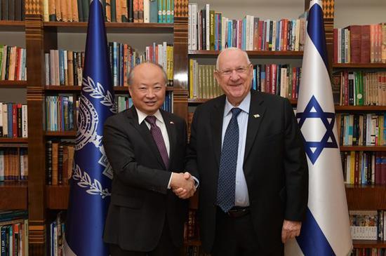 62岁中国驻以色列大使詹永新将离任 已获派驻4年图片