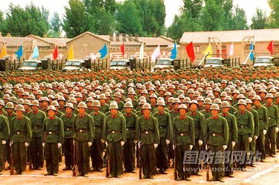 上世纪80年代雁北陆军预备役师组建。