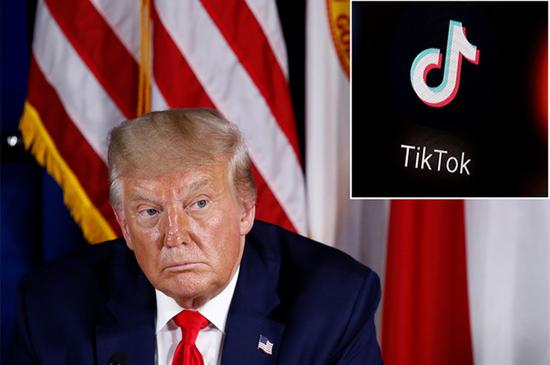 """海外网:""""封禁""""TikTok,撕下美式言论自由的画皮图片"""