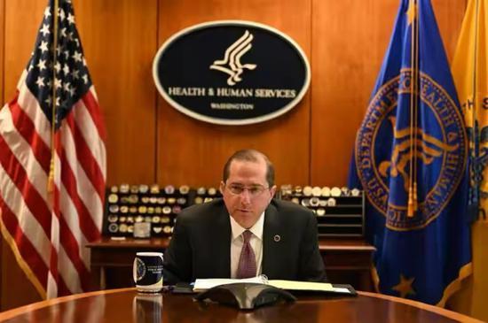 挑衅!美国卫生部长将访台 系1979年以来最高层级