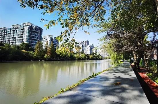 长宁苏州河健身步道(华政段)