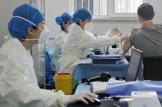 北京朝阳:超30万人接种新冠疫苗