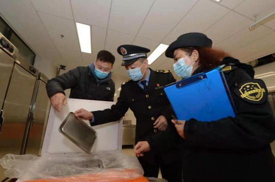北京市通州区学校食堂食品安全检查全覆盖图片