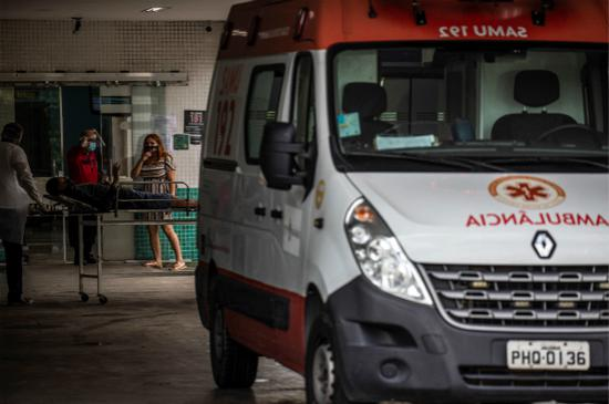 巴西两名女子同时感染两种变异新冠病毒