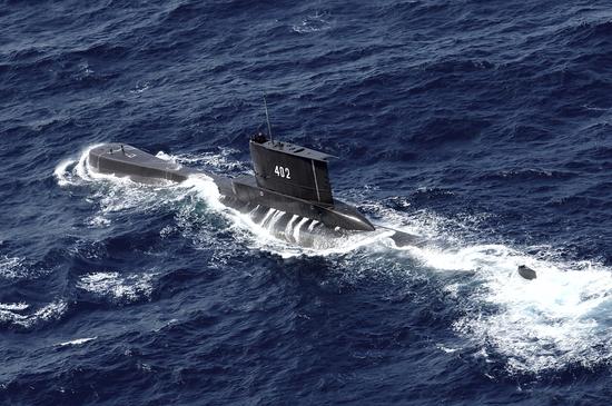 印尼海军失踪潜艇氧气据估已耗尽 未出现生命迹象