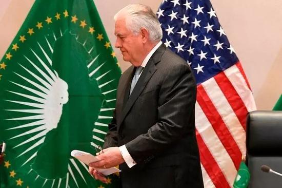 ▲美国前国务卿蒂勒森出访非洲,以修复特朗普辱非言论对双方关系造成的损伤。(盖帝图像)
