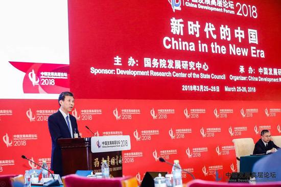 刘昆(中国发展高层论坛供图)