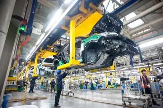 ▲重庆某品牌汽车现代化整车生产线